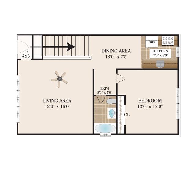 Floor Plans Mary Garden Apartments For Rent In Hackensack Nj