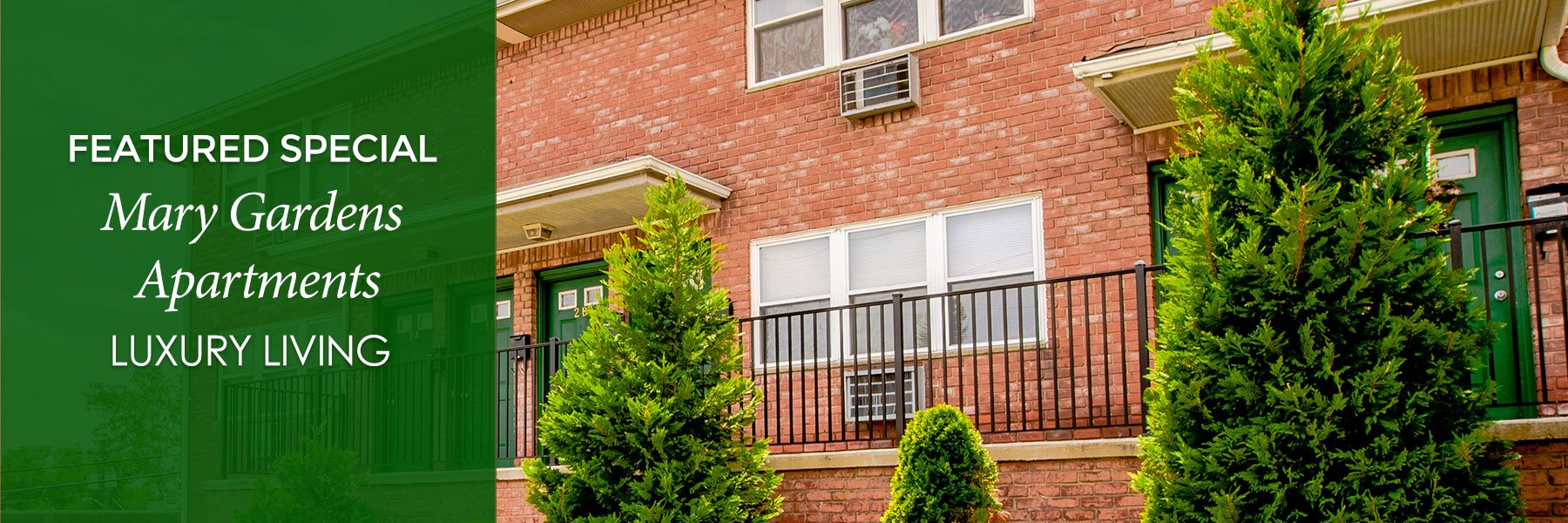 Mary Gardens Apartments For Rent in Hackensack, NJ Specials